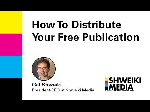 Tips For Distributing Your Free Publication