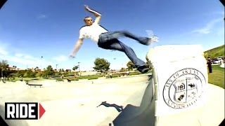 Tony Hawk Skates Newly Opened Oceanside, California skatepark
