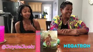 Nicki Minaj Megatron Reaction w Moms