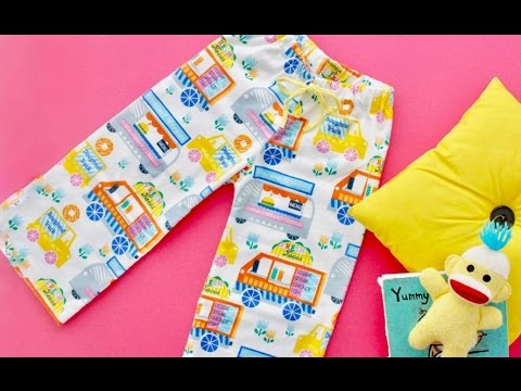How To Sew Pajama Pants And Shorts Youtube