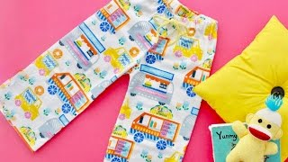 How to sew pajama pants and shorts