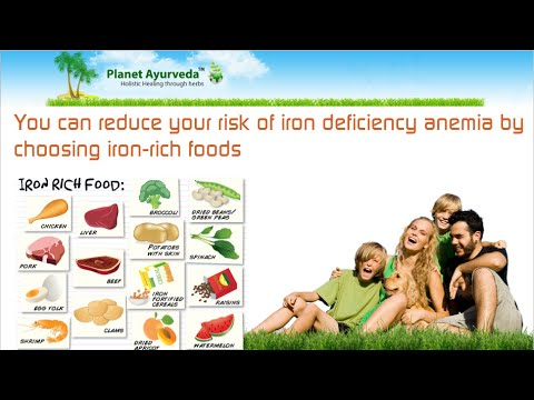 People With Iron Deficiency Anemia