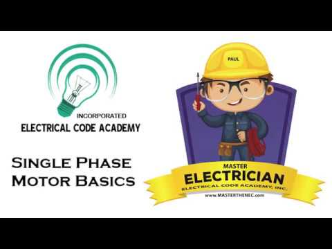 2017 NEC Electrical Exam Prep Series- 1 PH Motor Calculation Basics ...