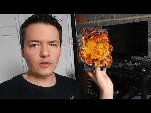 I've Melted My Hard Drive! Burstcoin HD Mining Rig