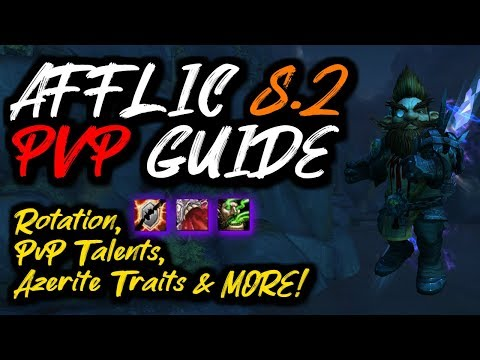 AFFLICTION Warlock 8.2 PvP Guide!