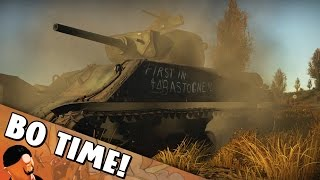 War Thunder - M4A3E2 Jumbo - The Last Stand of Cobra King