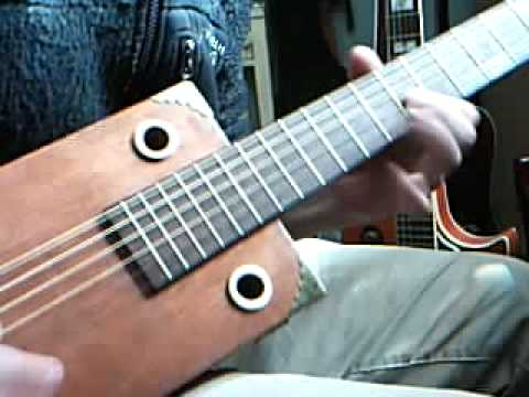 my new home made 6 string acoustic electric cbg cigar box guitar youtube. Black Bedroom Furniture Sets. Home Design Ideas