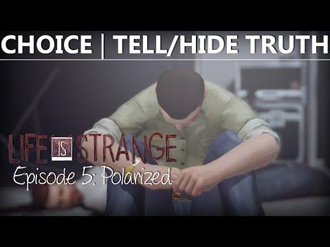 Life Is Strange Episode 5 CHOICE TELLHIDE TRUTH  DAVID KILLS JEFFERSON  Polarized