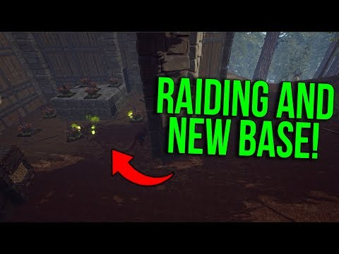 MOVING BASE & RAIDING! - ARK Extinction Official PvP | Ep.5