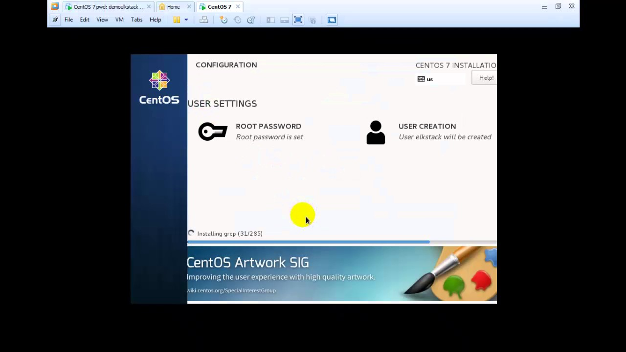 How to Install Centos 7 and Enable ifconfig