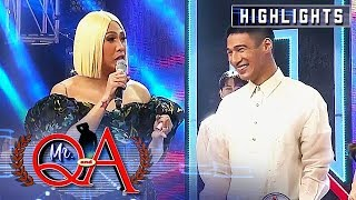 Vice reveals why Albie joined the competition | It's Showtime Mr. Q and A