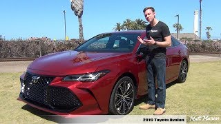 Review: 2019 Toyota Avalon (Touring + Limited) - The Most Dynamic Avalon Yet!