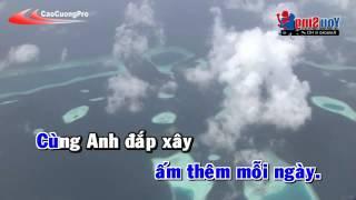 Bi mat cua hanh phuc Karaoke - Ngo kien huy ft Dong nhi