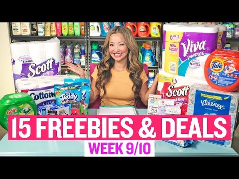★ 15 FREEBIES & Coupon Deals at Target & Walgreens (Week 9/10-9/16)