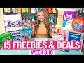 ★ 15 FREEBIES & Coupon Deals at Target & Walgreens (Week 9/10-9/16)