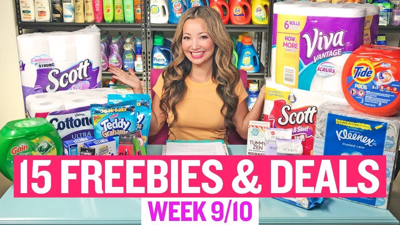 15 Freebies Coupon Deals At Target Walgreens Week 9 10 9 16