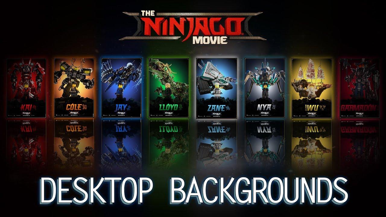 the lego ninjago movie cool desktop backgrounds youtube