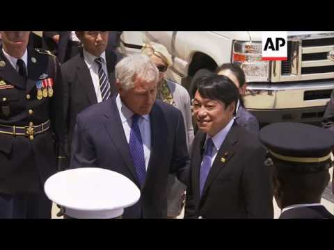 US defence secretary Hagel meets Japanese counterpart at Pentagon