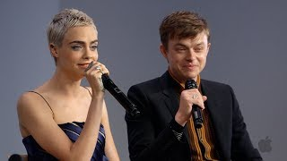 Cara Delevingne and Dane DeHaan Interview on Valerian and the City of a Thousand Planets