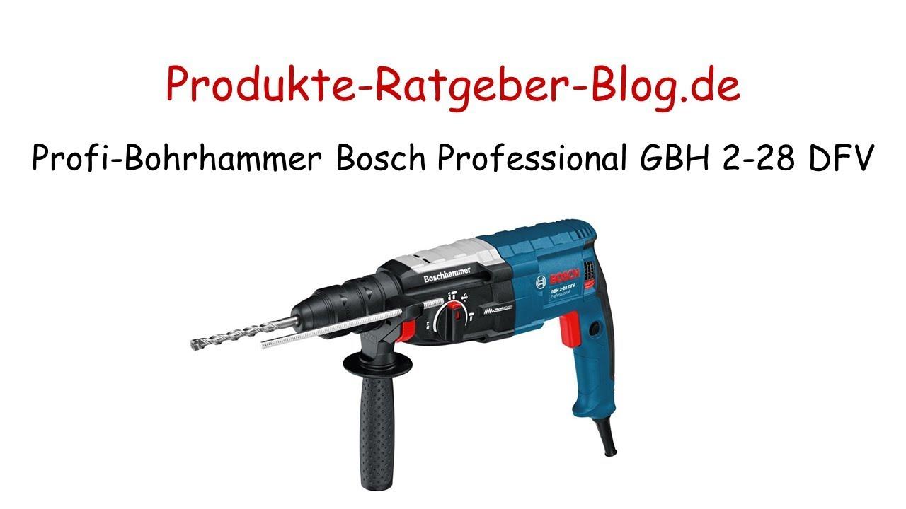 Bohrhammer Test 2018 : test profi bohrhammer bosch professional gbh 2 28 dfv ~ Watch28wear.com Haus und Dekorationen