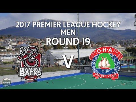 Diamondbacks v OHA | Men Round 19 | Premier League Hockey 2017