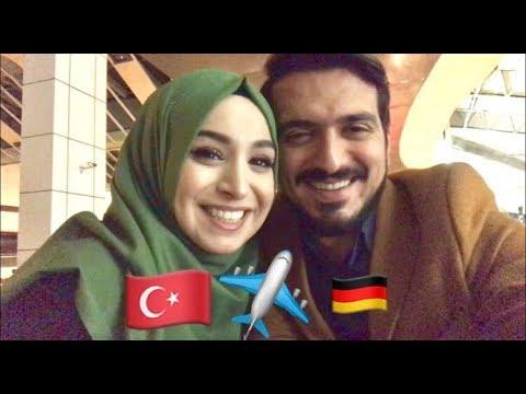 VLOG #7 - ALMANYA YOLCULUĞU - Beyza Almanya'ya, Burak Bekarlığa :) - HER ŞEY AŞKLA