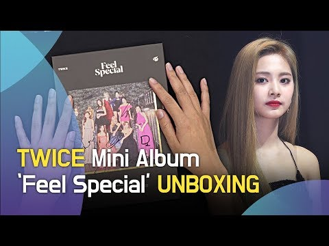 (ENG)TWICE Mini Album 'Feel Special' Unboxing(트와이스 앨범 언박싱)