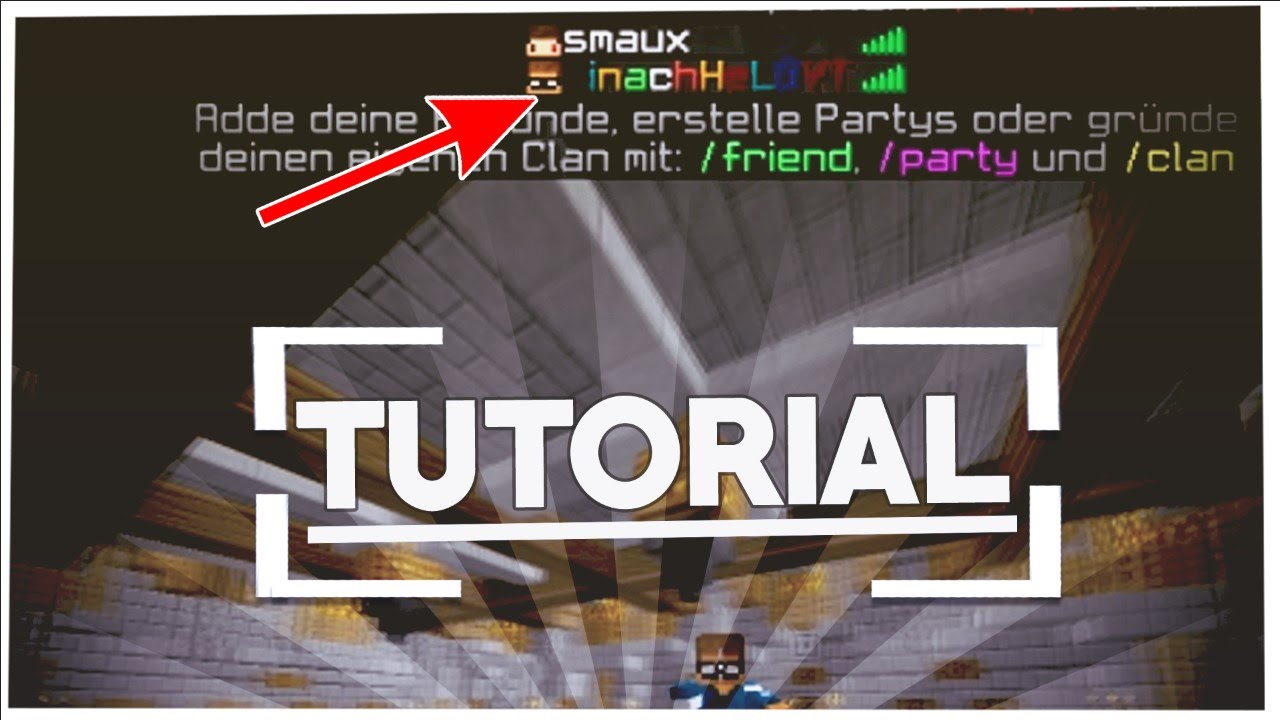 EUREN MINECRAFT NAMEN FARBIG MACHEN Tutorial YouTube - Minecraft namen andern 1 12