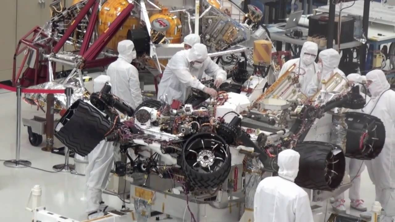 NASA Mars Rover Building - Pics about space