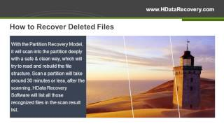 HData Recovery Tutorial   3 Steps Recover All Deleted Files