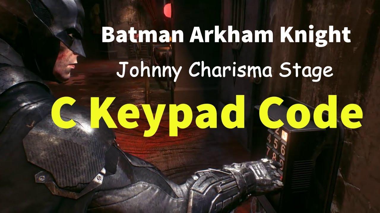 Batman logo metal key door arkham knight
