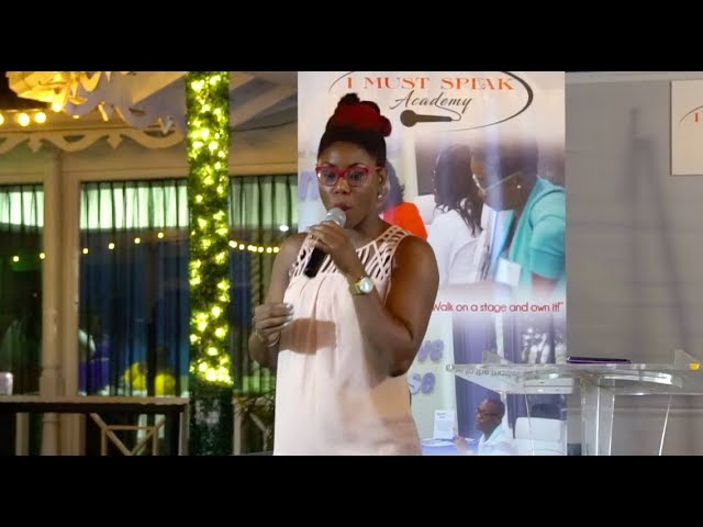 JULIA BARNES - Speaker at I Must Speak Evening of Empowerment