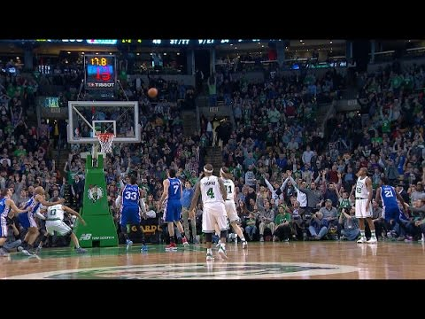 Al Horford Sinks the Game-Winning 3 vs. the 76ers | 01.06.17