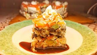 Суши! Роллы! Суши торт! Как радовать любителей японской кухни? Посмотреть мой видео до конца 😉