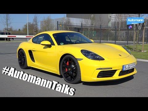 Porsche 718 Cayman S - #AutomannTalks