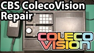 Colecovision (PAL, EU version) - Reтro Gaming Console Repair