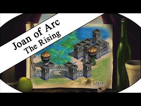 THE RISING Pt.1/2 - Let's Play Age of Empires II HD - Joan of Arc Campaign!