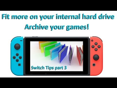 Switch Tips! Archive your games & save space on your ...