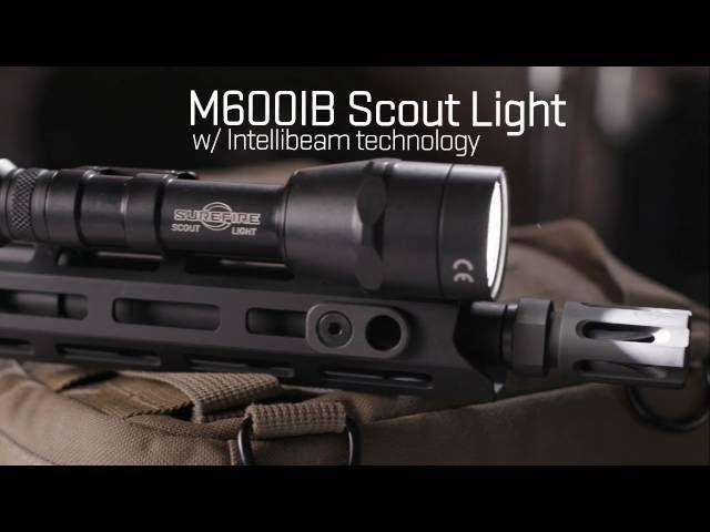 SureFire Scout Light with IntelliBeam™ Technology