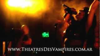 Theatres Des Vampires - Blood Addiction [Live @ Roxy Arcos Buenos Aires, Argentina 23/02/2013]