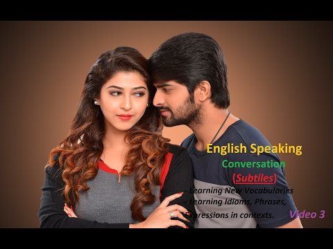 Practise Speaking English via real conversation P3
