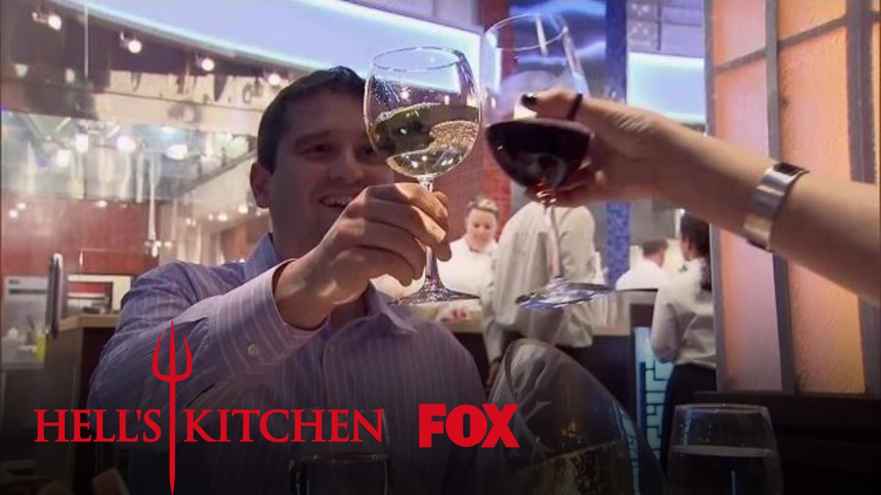 The dining room opens for its final dinner service for Watch hell s kitchen season 16