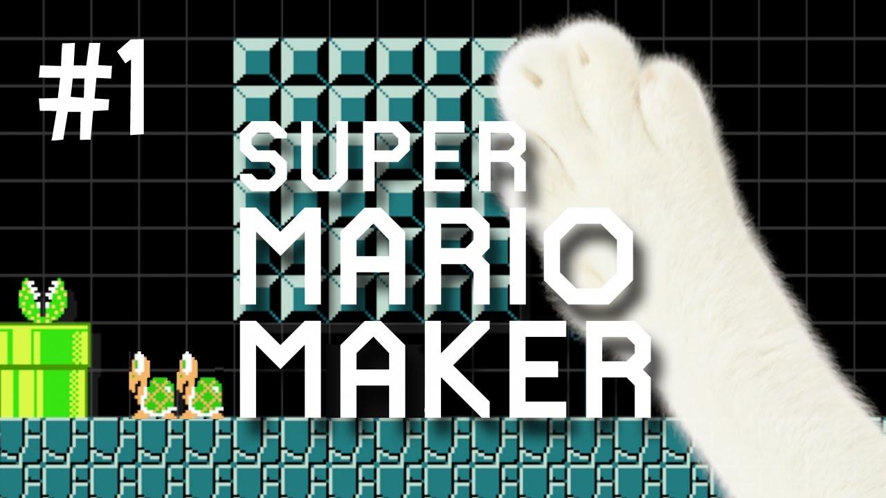 Stampy And Sqaishey Mario Maker : STUMPING STAMPY CAT - MARIO MAKER (EP.1) - YouTube