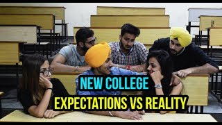 New College - Expectations VS Reality