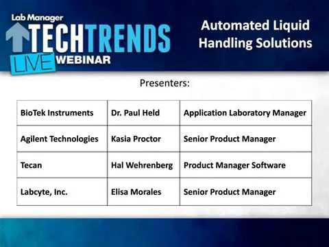 Automated Liquid Handling Solutions