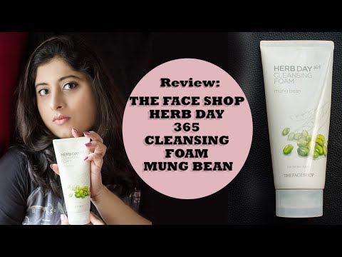 Herb Day 365 Cleansing Foam (Mung Beans)