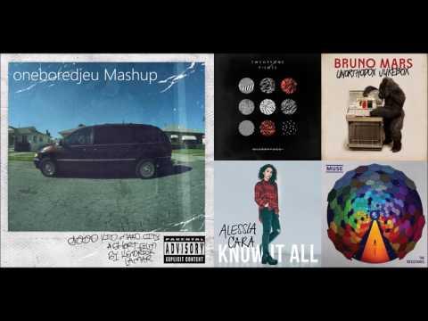 100K Birthday - Kendrick Lamar vs. twenty one pilots, Muse & More (Mashup)