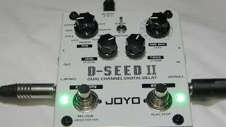 Joyo D-SEED II (2) - Delay e Looper (Review em Português)