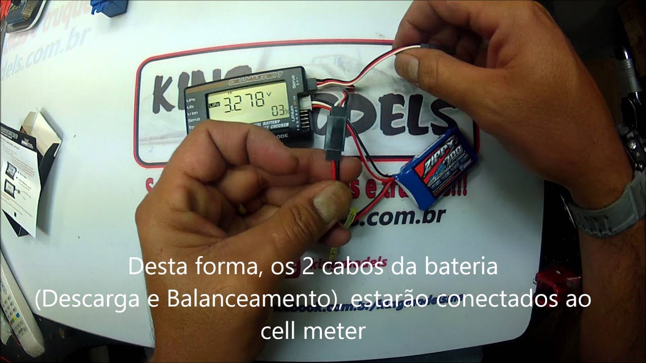 Cell Meter E Teste De Servo Hk Tester And Youtube How To Build Simple