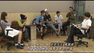 【繁中字】樂童音樂家, Team A - Smile Again (Unplugged ver) + 世宗大王頌(세종대왕) [CUT]